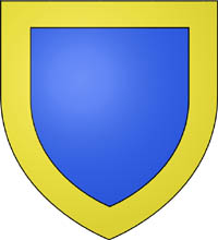 The coat of Arms of the village of Rennes-le-Château in France